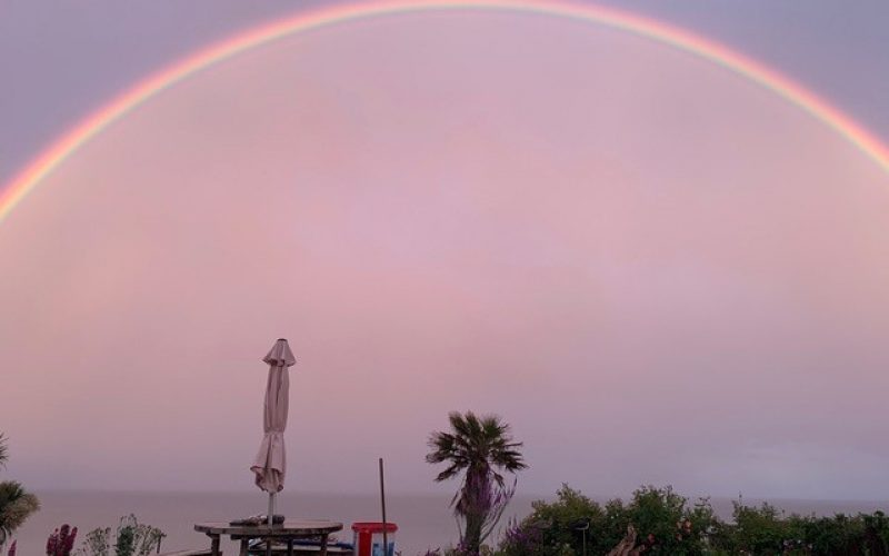 Amazing rainbow on Jun 6